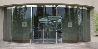 Automatic-Glass-Curved-Doors
